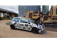 clio 172 track day car