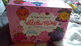 CHILDRENS MR MENS LITTLE MISS BOOK COLLECTION FULL SET EAST KILBRIDE BOX SET