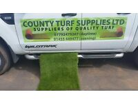 Turf and artificial turf supplied and fitted 10% off november to February