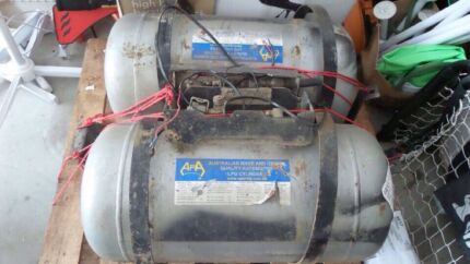 Underbody LPG tanks + auxiliary tank Sandgate Brisbane North East Preview
