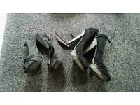 Heels size 5 both pairs