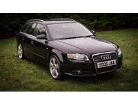 Audi A4 Avant S-Line 2005 black with full black leather