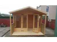 JANUARY OFFER ONLY 10ft x 7ft Summer House