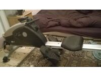 Carl Lewis Rowing Machine (ROMF51 Carl Lewis Fitness Magnetic Foldable Rowing Machine)