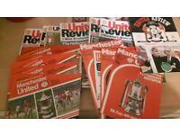 Manchester United magazines