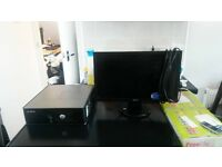 pc for sale the computer has a quad core processor a radeon graphics card with 2gb vram 8gb ram