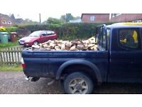 Logs for sale £50 truck load Seasoned