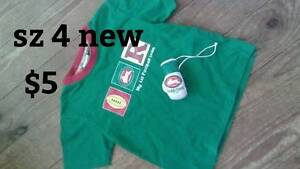 size 4 kids sth sydney rabbitos tshirt Willmot Blacktown Area Preview