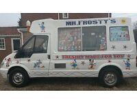 ice cream van 2006 ford transit