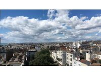 En-suite large double room in central brighton with amazing view