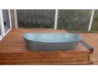 Large Tin Bath