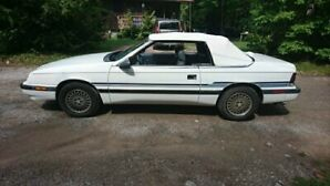 1988 Chrysler Le Baron convertible for sale
