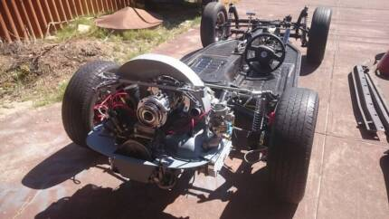 VW 1969 Beetle Rolling chassis plus Karmann Beetle Cabriolet body