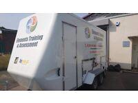 Catering trailer lpg equipment burger van mobile kitchen horsebox icecream conversion
