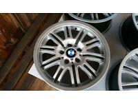 BMW M SERIES RIMS EXELENT CONDITION
