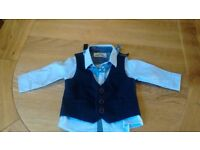Baby boy shirt & waistcoat from Next, 3-6mths, £9 (cost price £22)