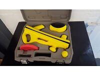 6pc velcro sanding kit