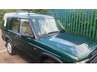 LANDROVER DISCOVERY 2 ADVENTURER AUTO TD5 ENGINE 7 SEATER MOT 30 Aug 2017. £3700.00.00 ovno