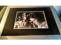 Carrie Fisher authentic autograph