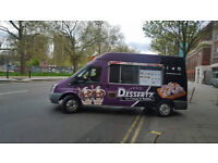 ICE CREAM & WAFFLE VAN FOR SALE.. IDEAL BUSINESS FOR START UPS.. Great Turnover and Potential
