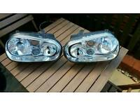 Vw Golf Mk4 Headlights with built in Fog