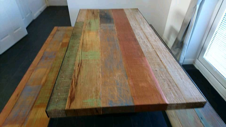 Barker And Stonehouse Mary Rose Dining Table Bench Set