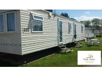 Static Caravan for Hire Lido Beach Prestatyn 3 Bed 8 Berth Family Friendly Direct Beach Access