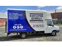 Hartlepool Removals & Storage | FROM £15 | Man with a luton van for hire | House Clearances |