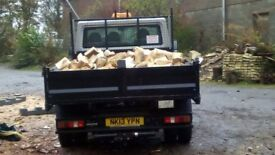 100% seasoned hardwood logs from North East Tree Specialists