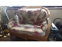 Sofa, chairs, foot stool furniture for sale good condition