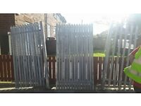 palisade gate / security gate / industrial gate / heavy duty gate / wrought iron gate / galvanised