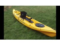 Fishing Kayak - Ocean Kayak Prowler Ultra 4.1 with Hummingbird fish finder.