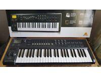 BEHRINGER MOTÖR Motor 49 Keyboard Midi Controller. NEW! 10/10 MINT CONDITION. BARGAIN PRICE...