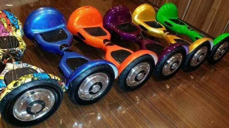 SMART BALANCE Premium Brand -Off Road Galaxy- 10 inch wheels- Bluetooth