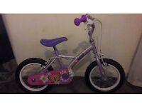 Girls Halford bike