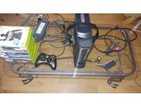 Xbox 360 Elite 250GB with Headset and 35 Games