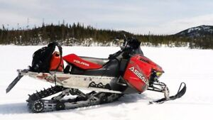 2014 Polaris Switchback Assault 800, 144""