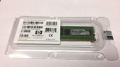 803028-B21 804843-001 803656-081 HP 8GB 1RX4 PC4-2133P MEMORY NEW RETAIL 1X8GB