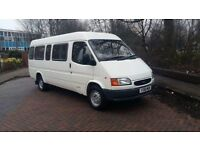 Ford transit minibus 17 seats