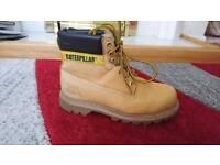 Steel toe cap boots size 6 men leather shoes £179
