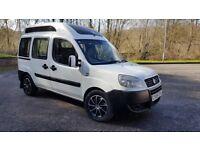 Fiat Doblo 2 berth Campervan 1.9 Diesel Long MOT