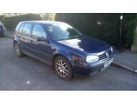 VW Golf Mk 4. Selling as I no longer need a car. OFFERS welcome