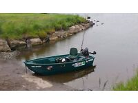 Funyak 3.5 metre fishing boat