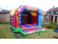 Bouncy Castle, Blower, Face Painting, Stair Climbing Trolley, Crash mat, Anchor Stakes, Ground Sheet