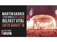 Martin Garrix Tickets x 2 Belfast Boucher