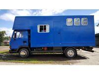 Daf 45, 150 turbo diesel 7.5t Horsebox for sale.