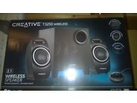 Creative speaker system with bluetooth