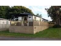 CORNISH HOLIDAY HOME 6 BERTH CARAVAN ON TREVELLA PARK NEWQUAY CORNWALL TO RENT 2017 from £295