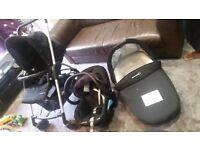 Maxi cosi pram, car seat, full travel system