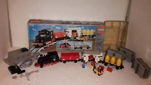 LEGO® 7730 12v Eisenbahn mit 7865 Motor Rot + 7864 Trafo Train Set mit OVP Box